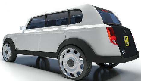 Diseño que ha obtenido el primer premio del concurso Renault4Ever